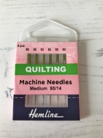 Hemline  Sewing Machine  ~ Quilting Needles ~ Medium 90/14