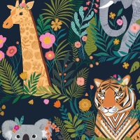 Our Planet ~ Dashwood Studio ~ Animals ~ Navy