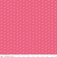 Bee Basics ~ Riley Blake Designs ~ Scissor ~ Raspberry