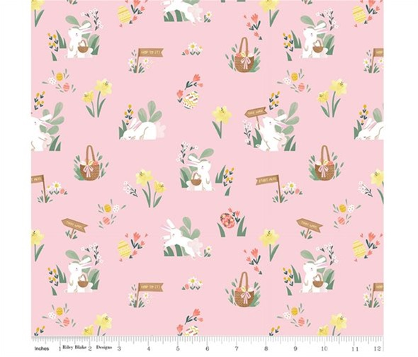 Easter Egg Hunt ~ Riley Blake Designs ~ Main ~ Powder