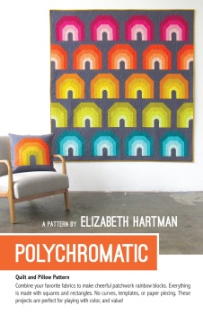 Polychromatic Quilt Pattern ~ Elizabeth Hartman