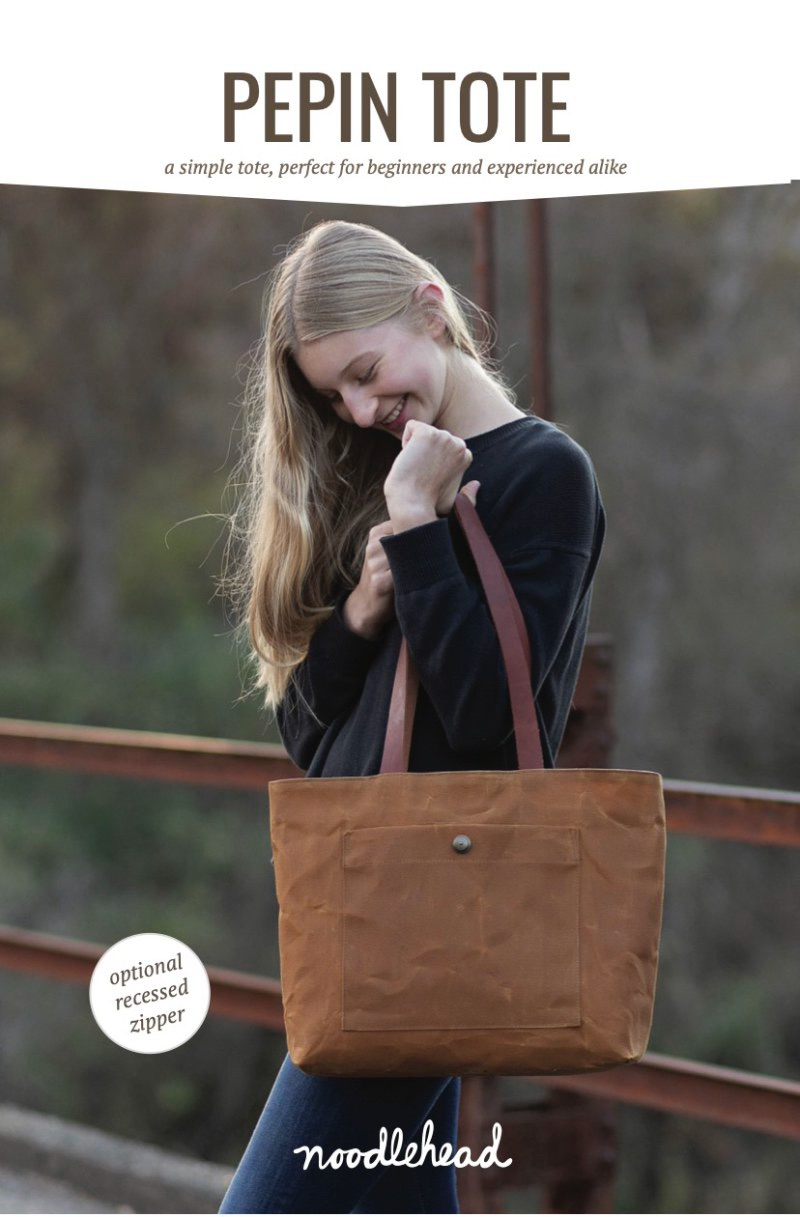 Pepin Tote Bag Pattern ~ Noodlehead