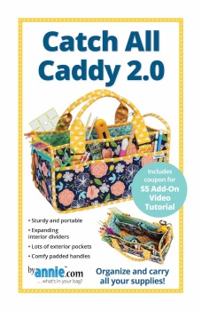 By Annie ~ Catch All Caddy 2.0  Bag Pattern
