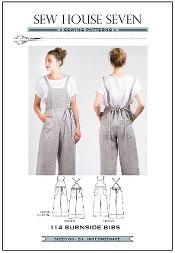 Burnside Bibs Sewing Pattern ~ Sew House Seven