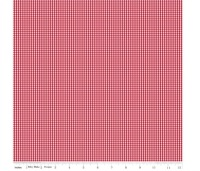 Notting Hill By Amy Smart ~ Riley Blake Designs ~ Gingham ~ Red