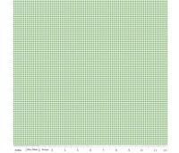 Notting Hill By Amy Smart ~ Riley Blake Designs ~ Gingham ~ Green
