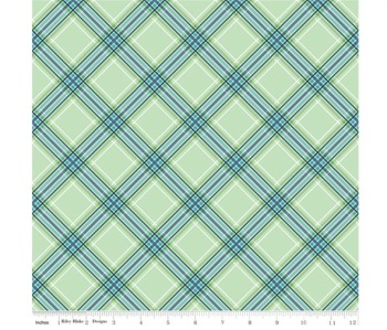 Notting Hill By Amy Smart ~ Riley Blake Designs ~ Plaid Green