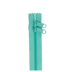 Double Slide Handbag Zipper ~ By Annie ~ 30 Inch ~ Turquoise