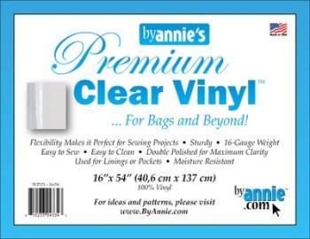 Clear Vinyl ~ By Annie
