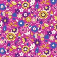 Kaleidoscope Ace  ~ Cotton Lawn ~  Dashwood Studio ~ Large Flowers on Pink