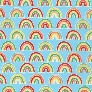 Bright Days ~ Ann Kelle ~ Robert Kaufman ~ Rainbows ~ Blue