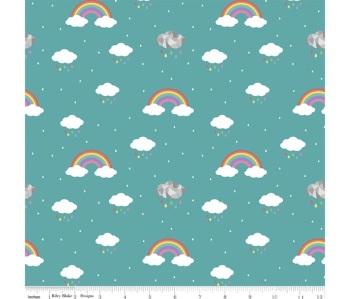 Dream ~ In Colour ~ Vivid (Teal) ~ Kirsty Lea ~ Riley Blake Designs