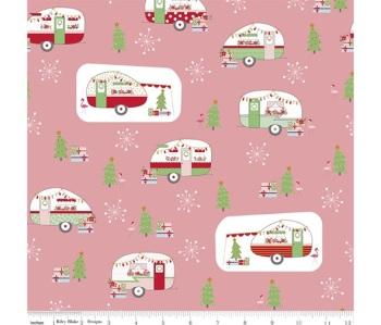 Christmas Adventure ~ Beverly McCullough ~ Riley Blake Designs ~ Main ~ Peony