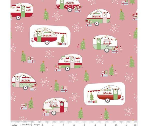 Christmas Adventure ~ Beverly McCullough ~ Riley Blake Designs ~ Peony