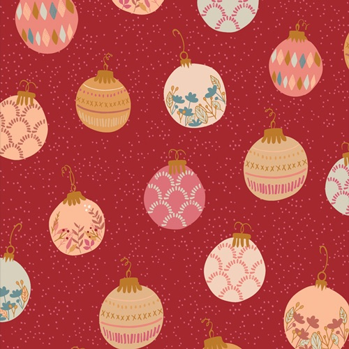 Cozy and Magical ~ Art Gallery Fabrics ~ Deck The Halls