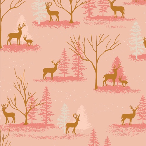 Cozy and Magical ~ Art Gallery Fabrics ~ Dear In Winterland