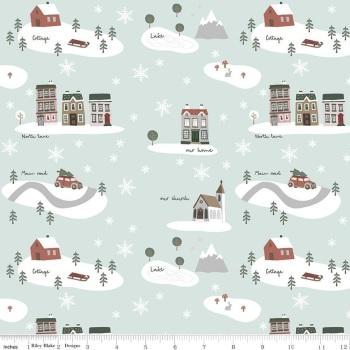 Warm Wishes ~ Riley Blake Designs ~ Main ~ Sky