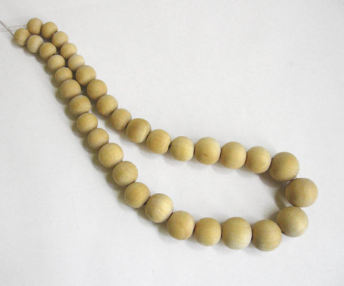 Wooden beads, mixed sizes, 11mm - 20mm,