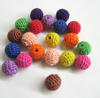 Colourful bead mix, 20pc. (B20005)