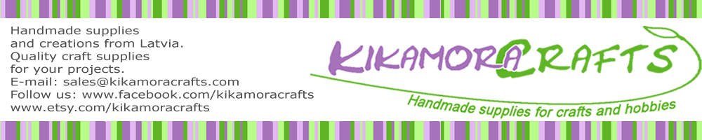 KikamoraCrafts, site logo.