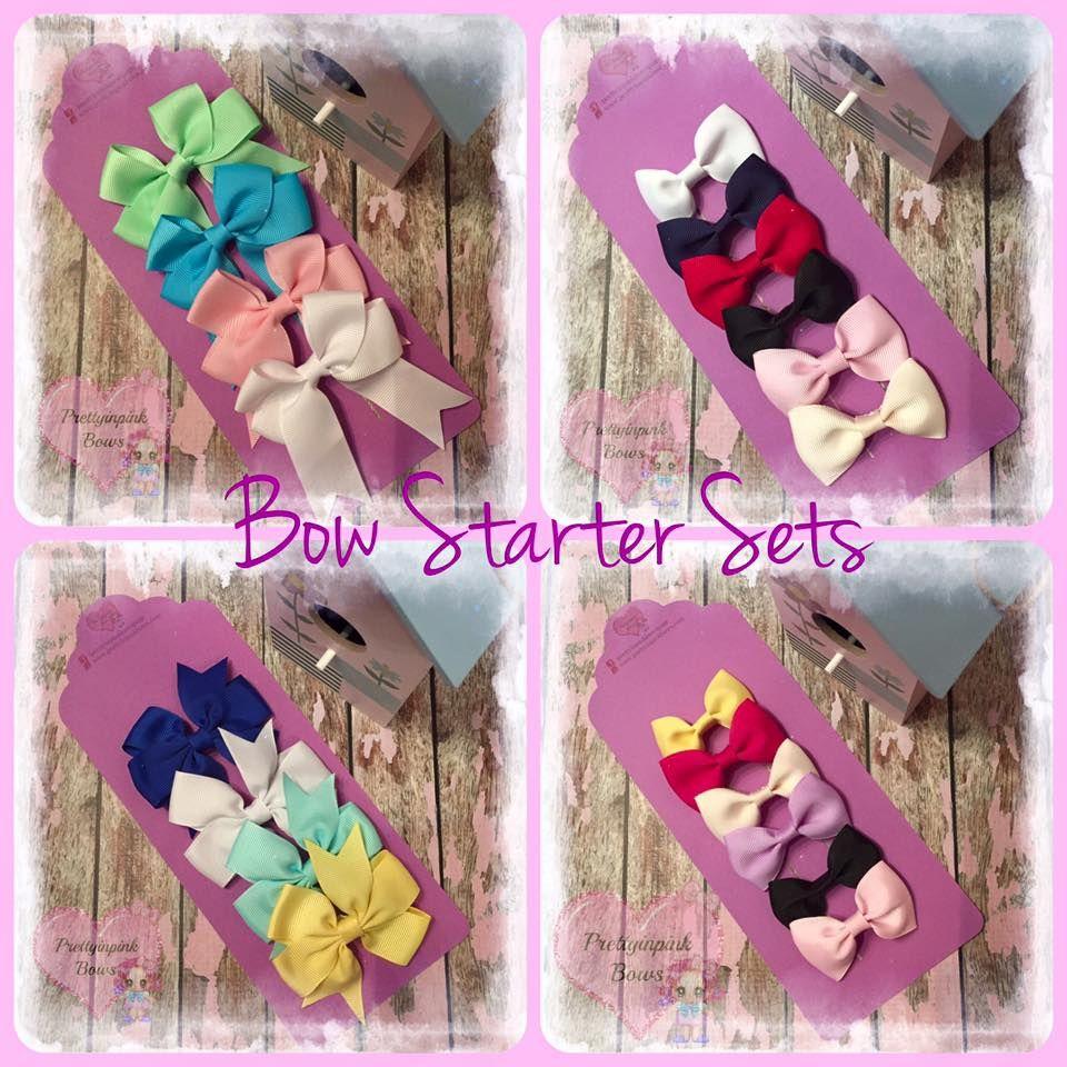 <!-- 016 -->Bow Starter Sets