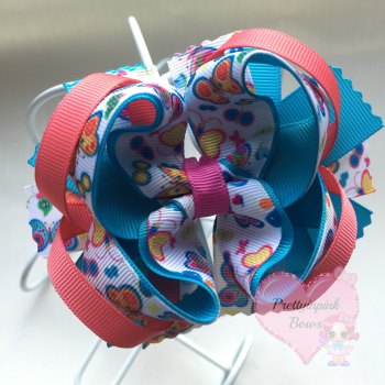 """4"""" Princess Bow Butterfly"""