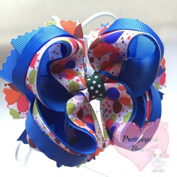 "4"" Princess Bow Flowers"