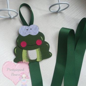 Bow Holder ~ Frog