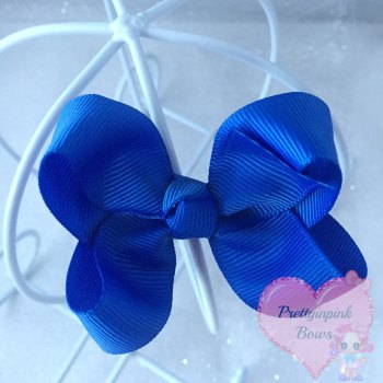 "3"" Boutique Bow ( Royal )"
