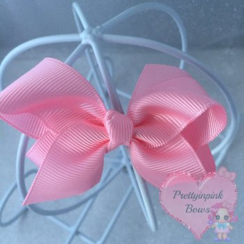 "3"" Boutique Bow ( Light Pink )"