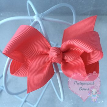 "3"" Boutique Bow ( Watermelon )"