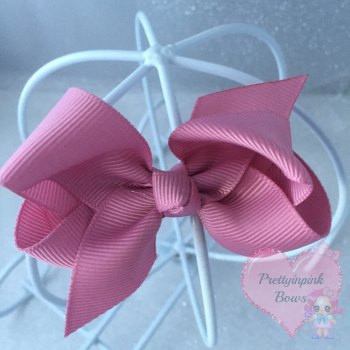"3"" Boutique Bow ( Quartz )"