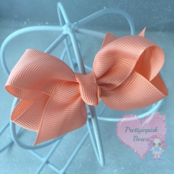 "3"" Boutique Bow ( Moonstone )"
