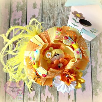 Pageant Bow - Summer Time