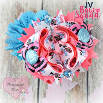 Pageant Bow - My Heart Belongs To Daddy
