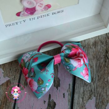 Large Minnie Bow - Cherry Blossom ~ On Bobble