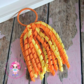 Long Korkers Yellow and orange On Bobble