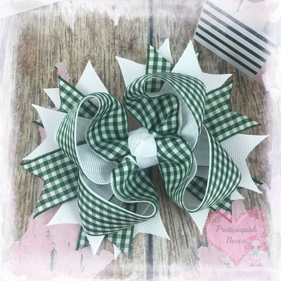 x Gingham Bows
