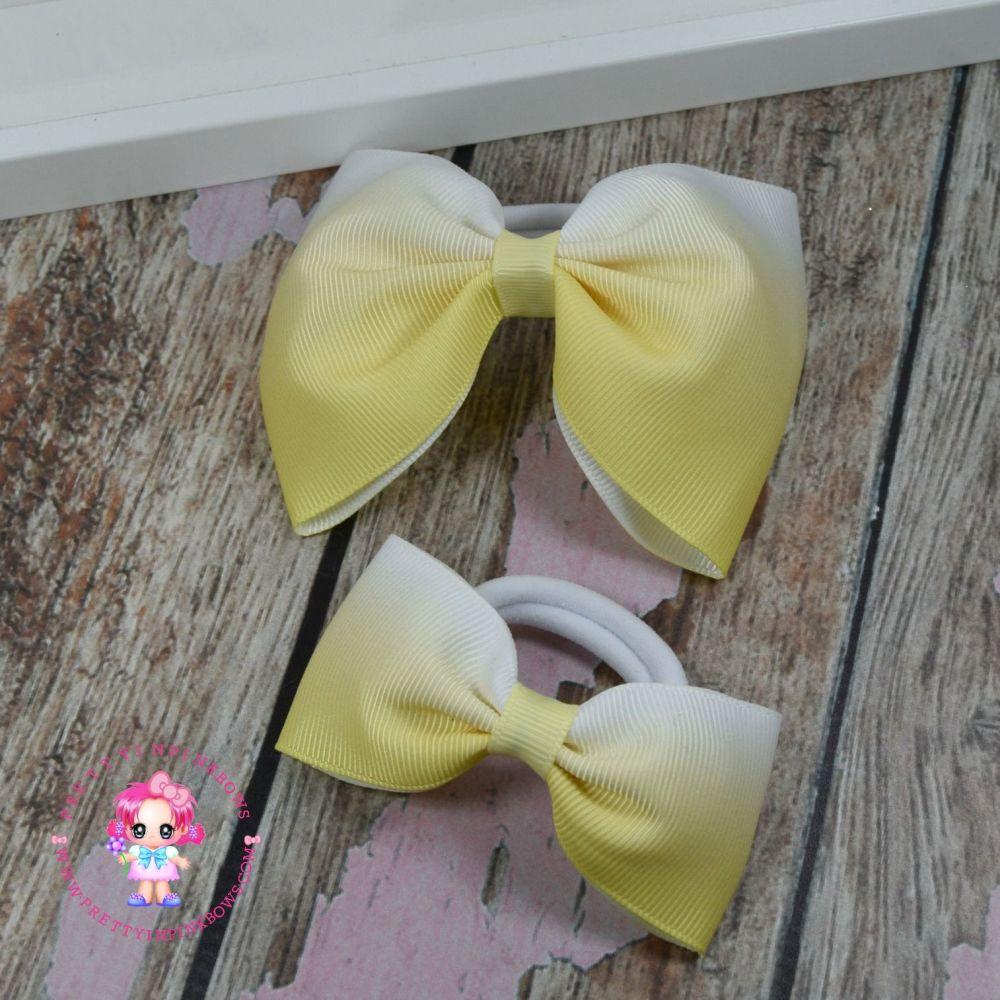 Pony Set - Yellow Ombre ~ On Bobbles