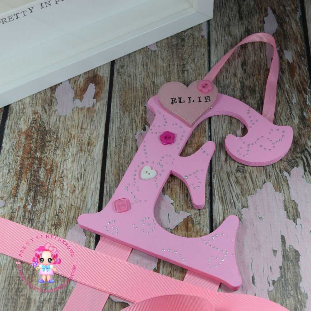 <!-- 002 -->Bowtiful Single Letter Bow Holders