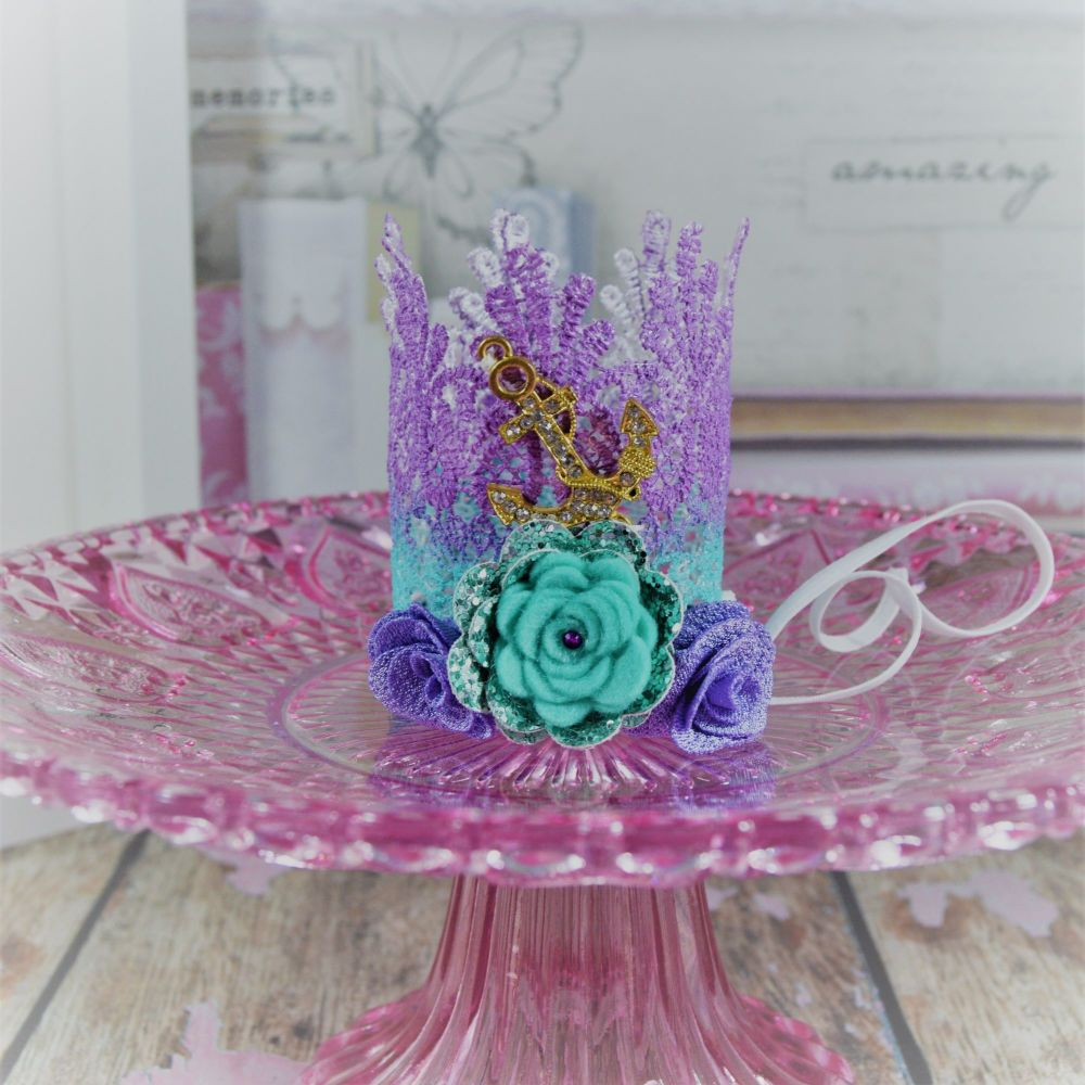 Lace Crown - Ariel Inspired