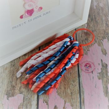 Long Korker ~ Navy, White and Red