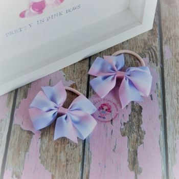 Double Loop Pinwheels - Pink And Lilac ~ On Bobbles