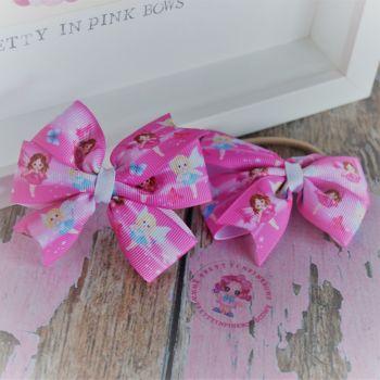 Double Loop Pinwheels - Pink Fairy ~ On Bobbles