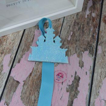 Blue Glitter Castle Starter Bow Holder