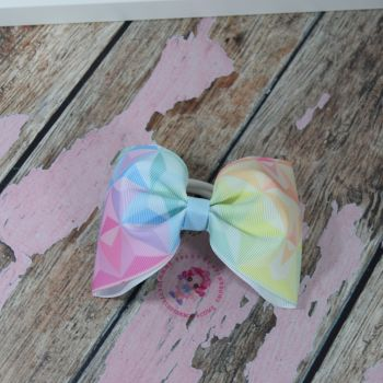 Large minnie bow - Dimonds  on bobble