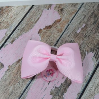 Large minnie bow - Light Pink  on bobble