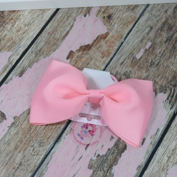 sale - large minnie bow on bobble pink