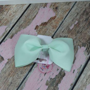 sale - large minnie bow on bobble mint