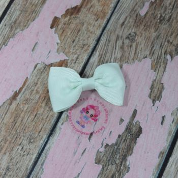 Minnie Bow On Croc Clip ~ Ice Mint